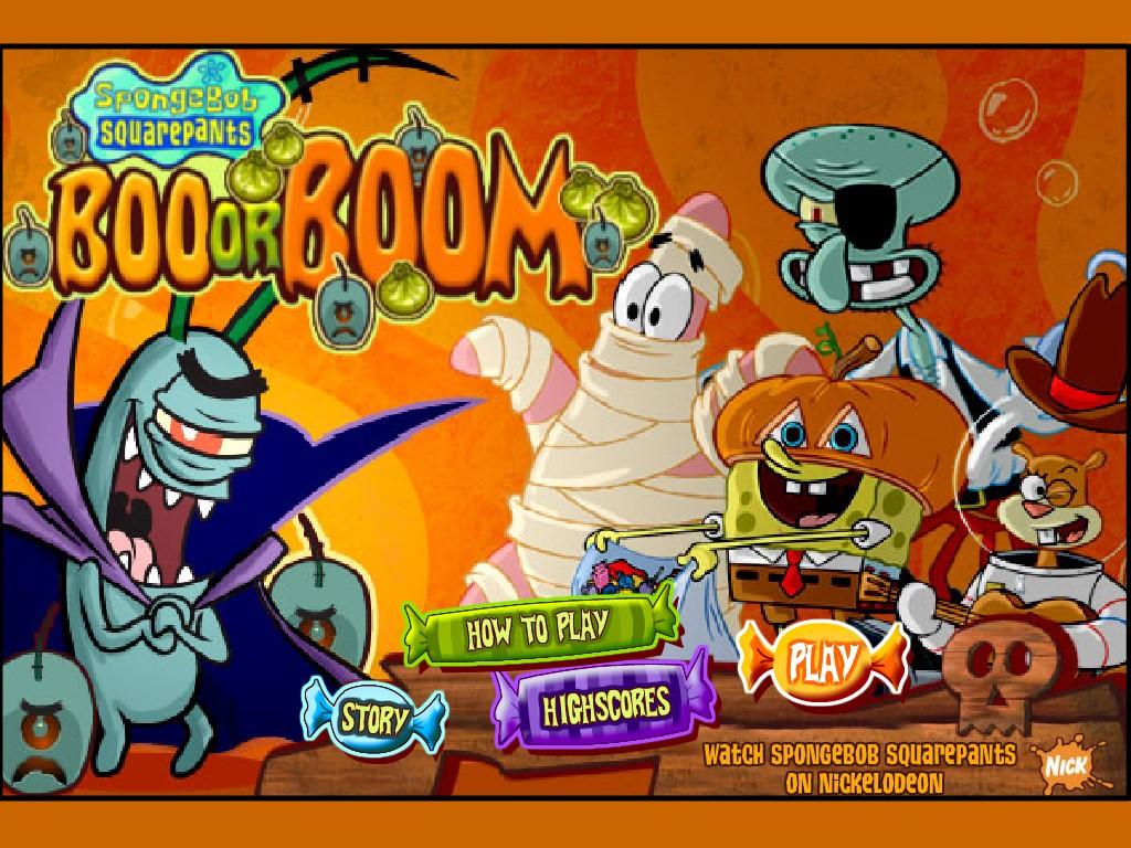Игры Спанч Боб Губку Боб - играть бесплатно.