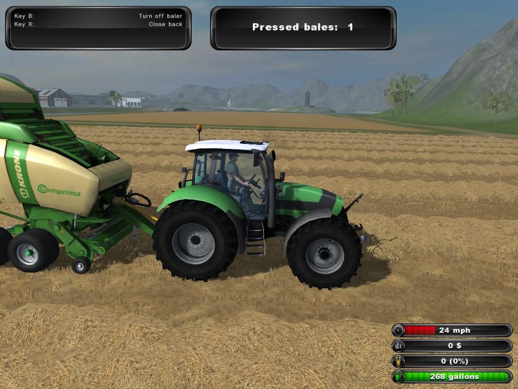 Farming Simulator 2011 czyli symulator farmy daje możliwość