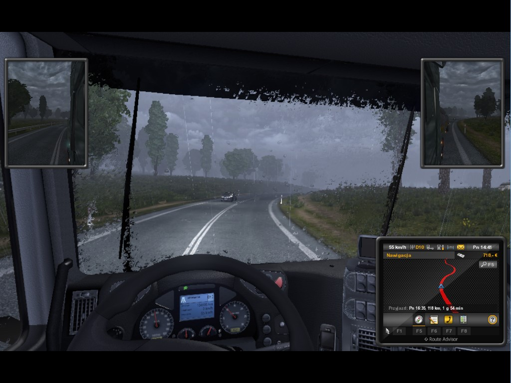 Euro Truck Simulator 2 SCANIA V8 Skin - Download