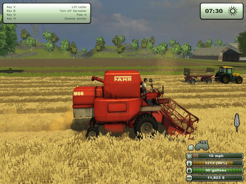 Symulator Farmy 2013 to oczywiście następca gry Farming Simulator