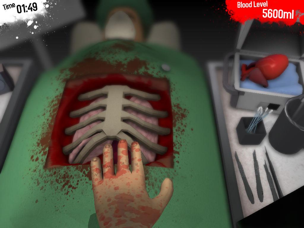Surgeon Simulator 2013 (symulator zawodu chirurga)